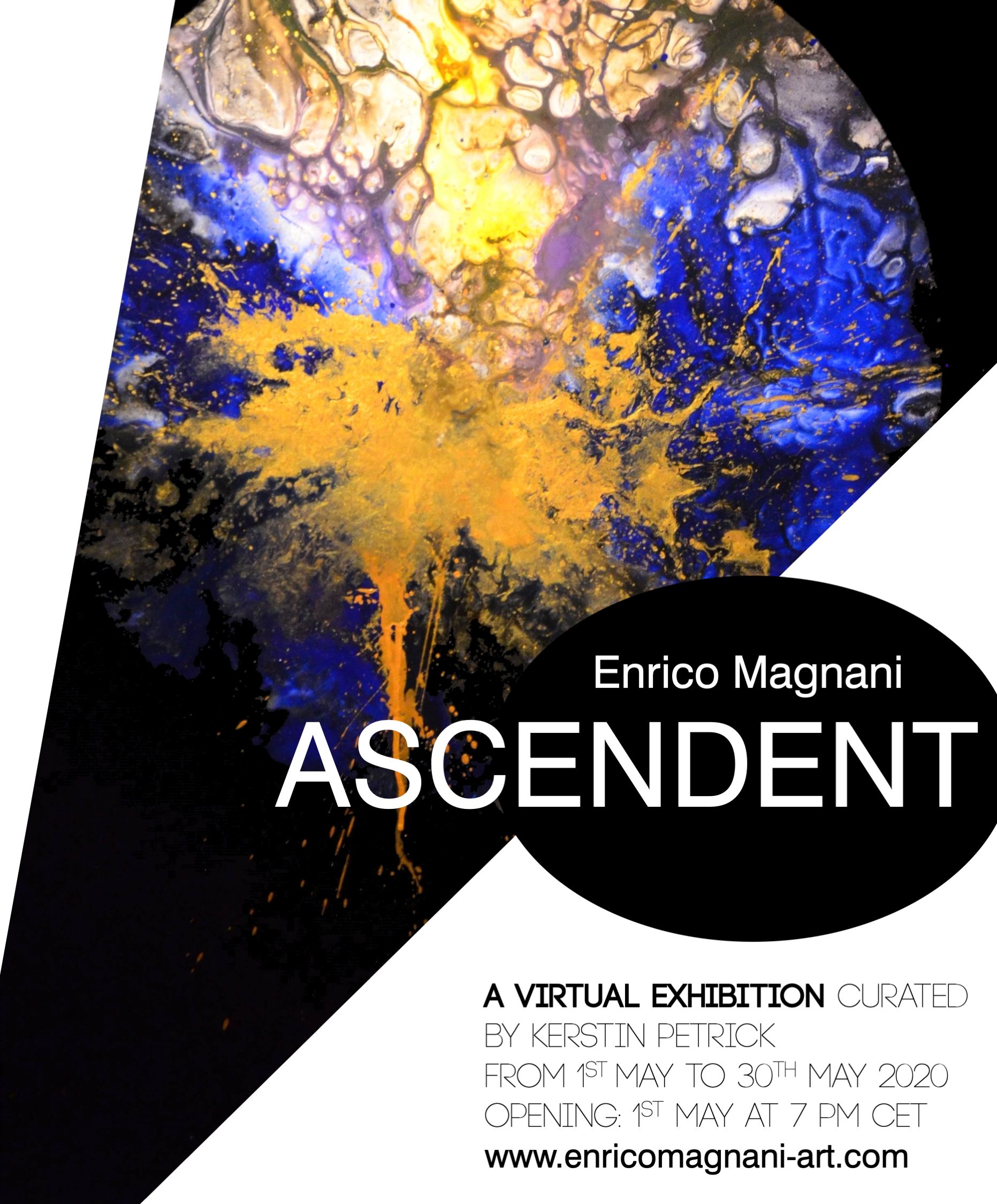 enrico, magnani, art, mostra, virtuale, ascendent, virtual, show, exhibition