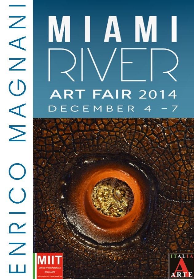 enrico magnani, miami, art, river, fair,