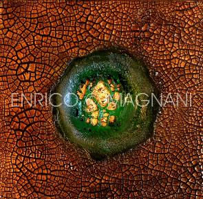 enrico magnani, art, work in green
