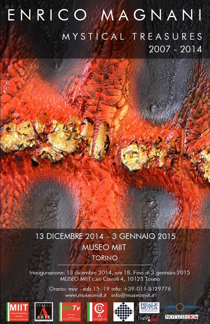 enrico magnani, art, mystical, treasures, turin, torino, exhibition, expo