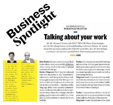 enrico magnani, business, spotlight, ken taylor