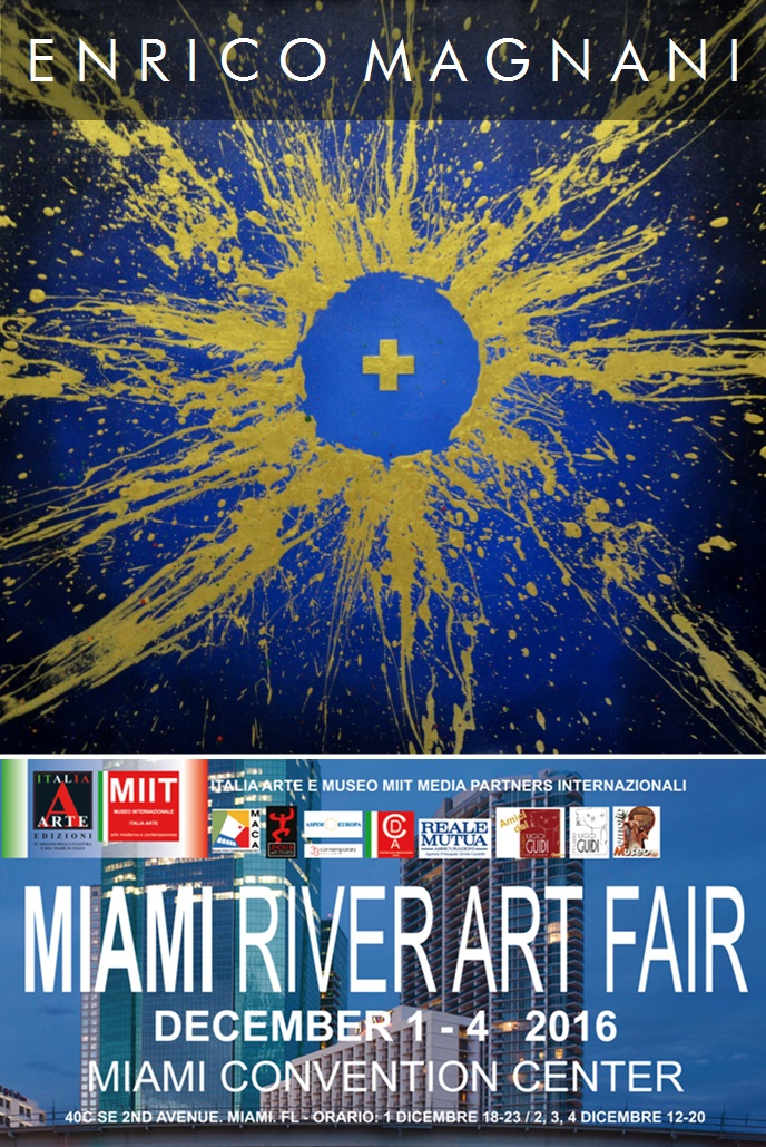 enrico magnani, miami, art, river, fair, contemporary, paintings, abstract